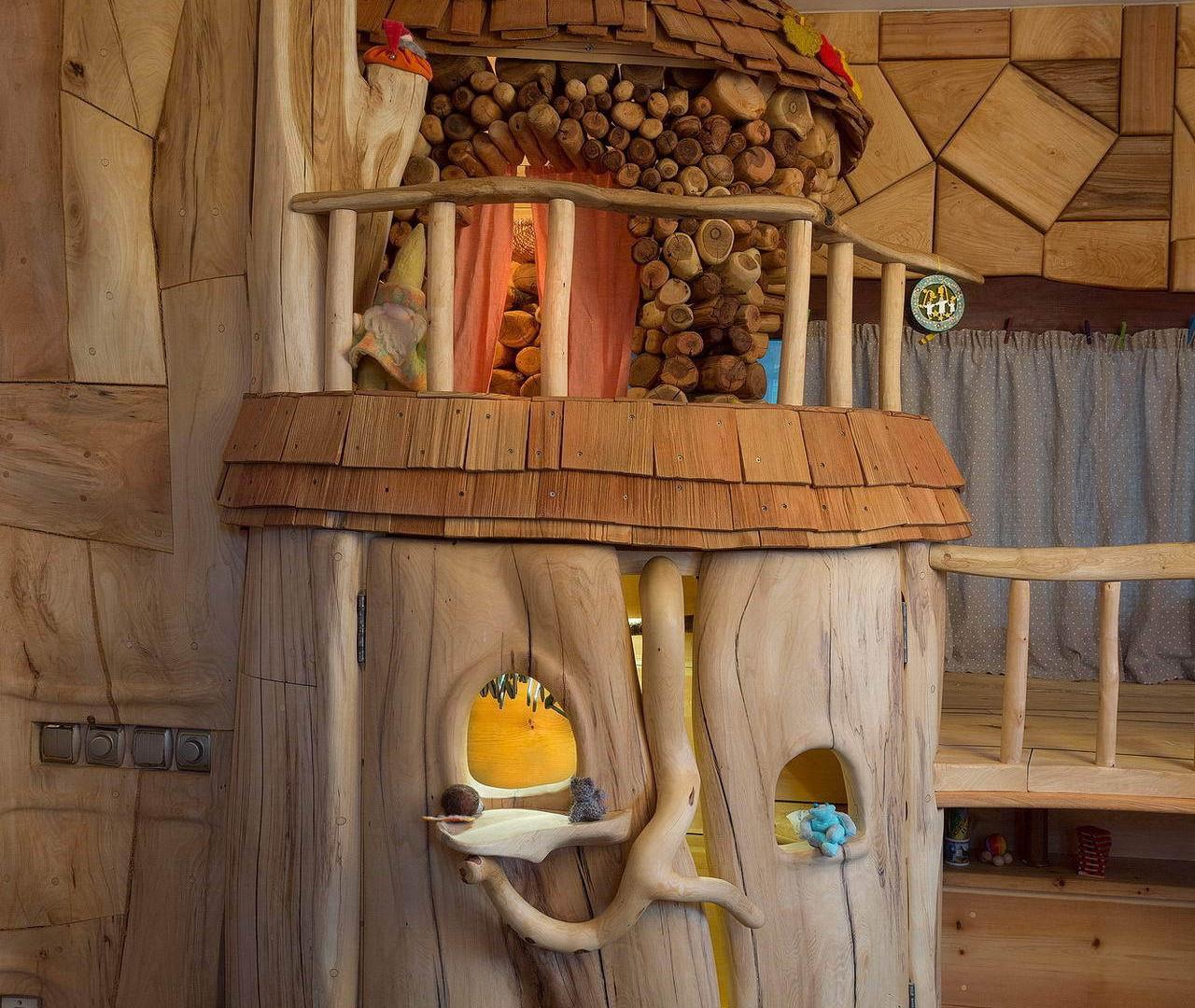 детский шкаф woodland