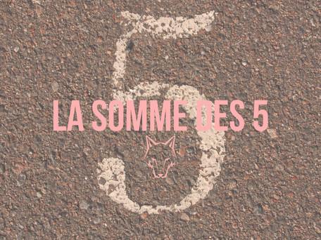 LA SOMME DES 5