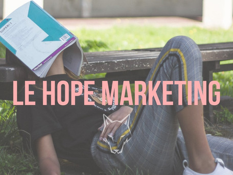LE HOPE MARKETING 🙏