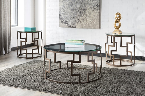 Frostine Coffee/End Table Set
