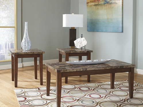 Theo 3 Piece Coffee/End Table Set
