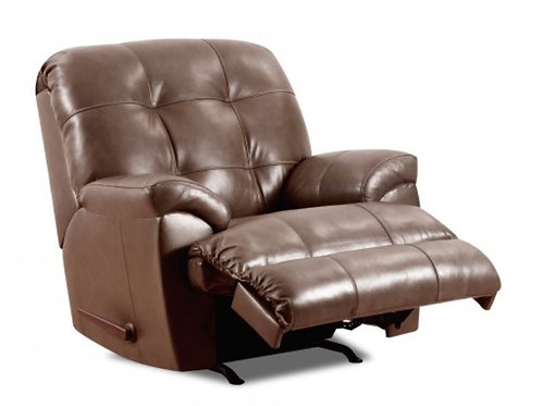 Lane Soft Touch leather recliner