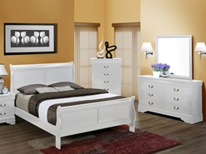 Louis Philip White Queen Bedroom Group