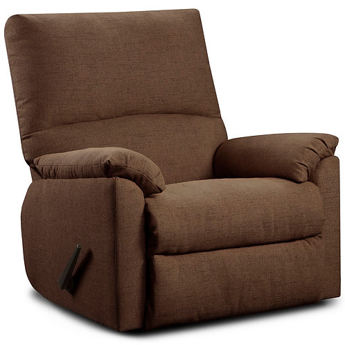 Mitchell Chocolate Rocker Recliner