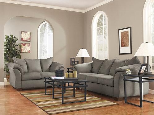 Darcy Cobblestone Sofa Love