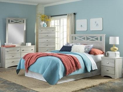 Charleston White Queen Bedroom Group