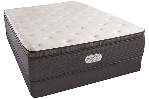 Beautyrest PLATINUM Spring Grove Pillow top Luxury firm Queen Mattress