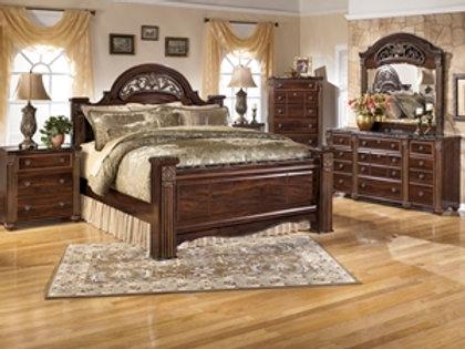 Gabriela Cherry King Bedroom Group