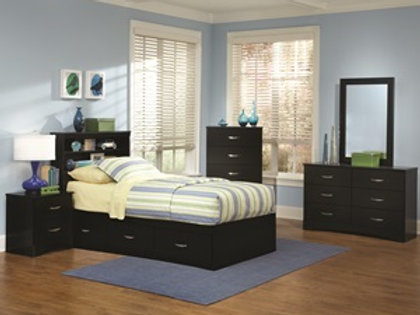 Youth Twin Bookcase storage bedroom group