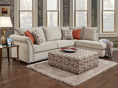 Patten Beige Sectional