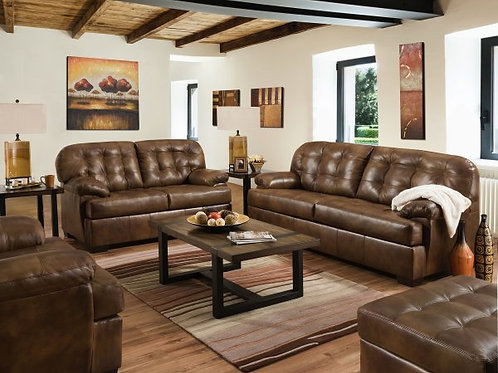 Lane Leather Sofa and Loveseat Set soft touch leather