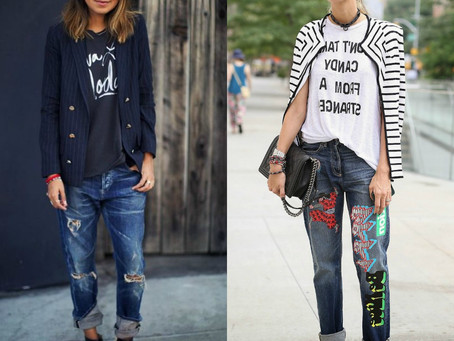Edgy Outfits with Jeans