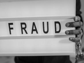 Cinco tipos de fraudes más comunes en los negocios