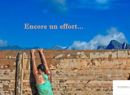La notion d'effort dans la réussite