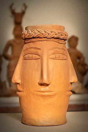 Five-Face Jar
