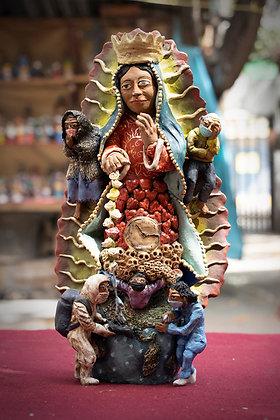 La Virgen del COVID