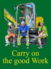 Carry on the good work2, forside, eng.jp