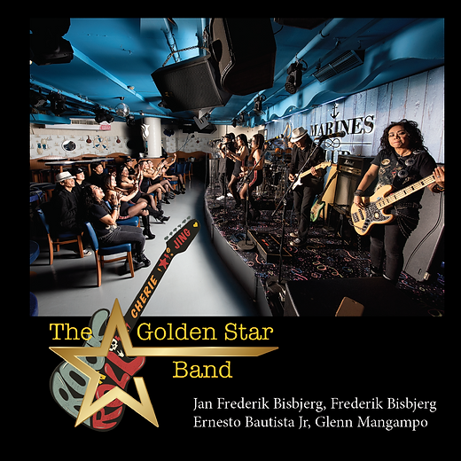 The Golden Star Band, new book, frontpage