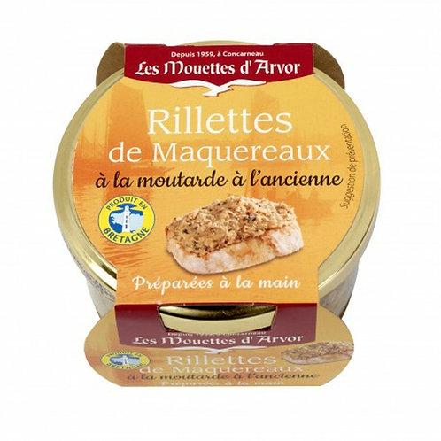 Mouettes D'Arvor Rillettes of Mackerel & Mustard