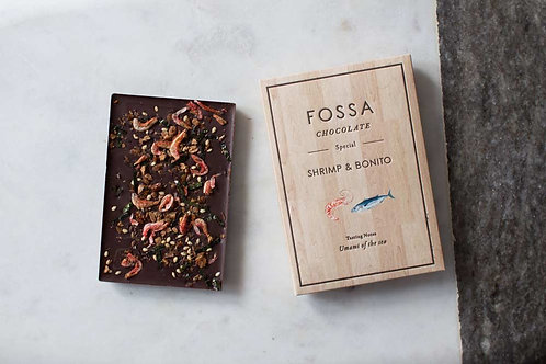 Fossa Chocolate Shrimp & Bonito