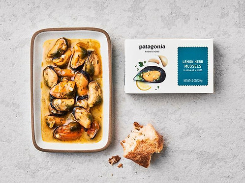 Patagonia Provisions Lemon Herb Mussels