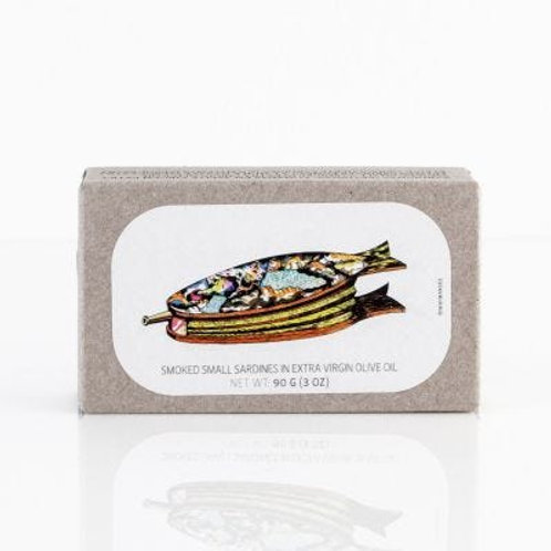 Jose Gourmet Smoked Sardines in Extra Virgin Olive Oil