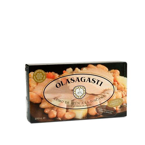 Olasagasti Tuna Fillets with White Beans