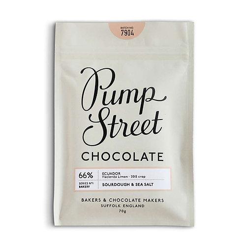 Pump Street Chocolate Sourdough & Sea Salt 66%