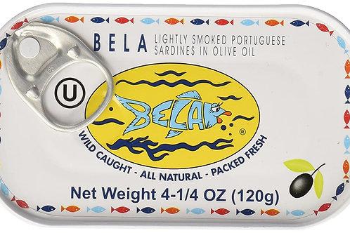 Bela Sardines with Lemon