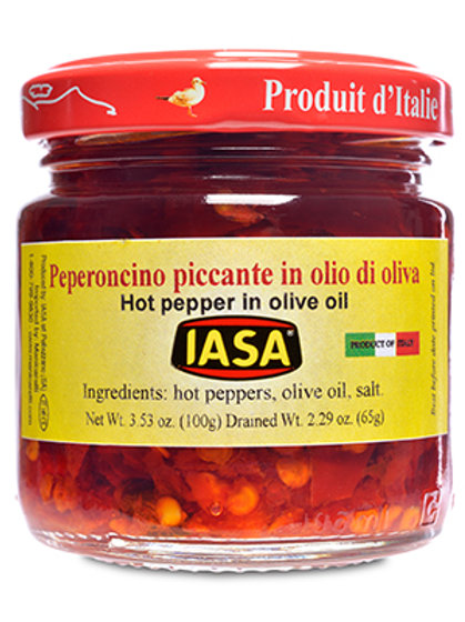 IASA Hot Pepper in Olive Oil