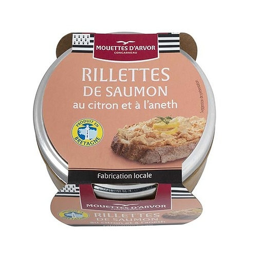Mouettes d'Arvor Rillettes of Salmon