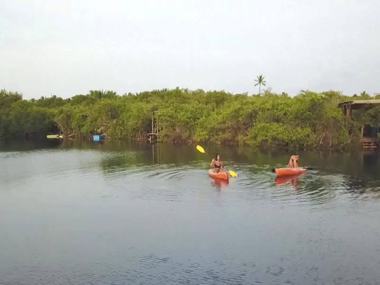Kayaks @ Cenote Encantado Tulum
