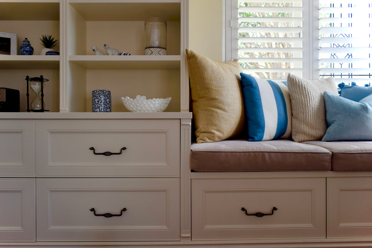 Custom Bookcase and Daybed