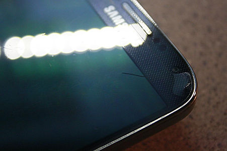 Samsung S4 Cracked Display