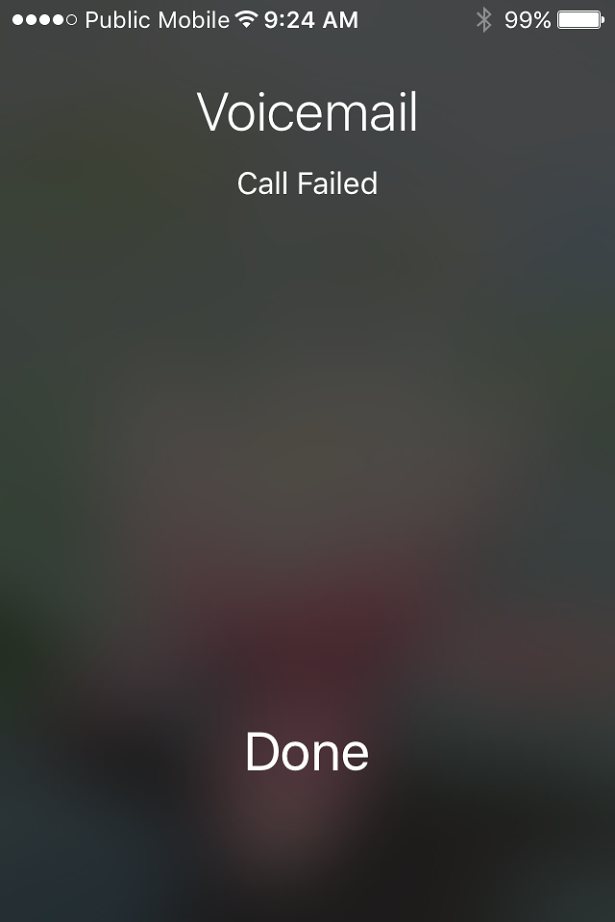 straight to voicemail iphone