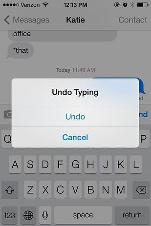 undo typing vancouver