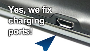 Charging port problems on your iPhone iPad or Samsung mobile