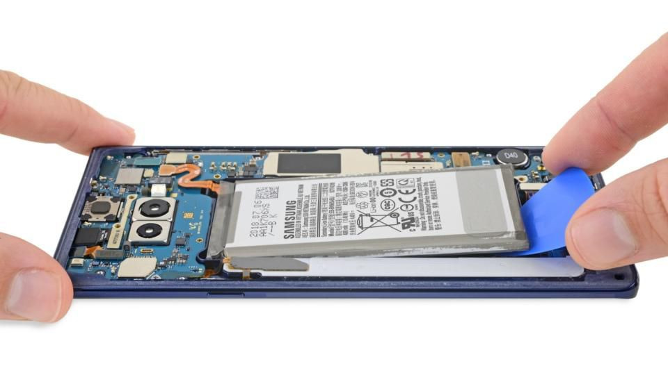 Samsung Note Battery Replacement