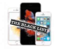 iphone blacklisted
