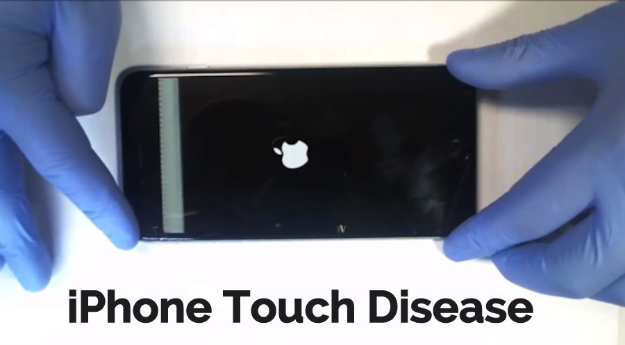 iPhone Touch ic touch screen issue