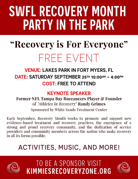 Party in the Park - Recovery Event