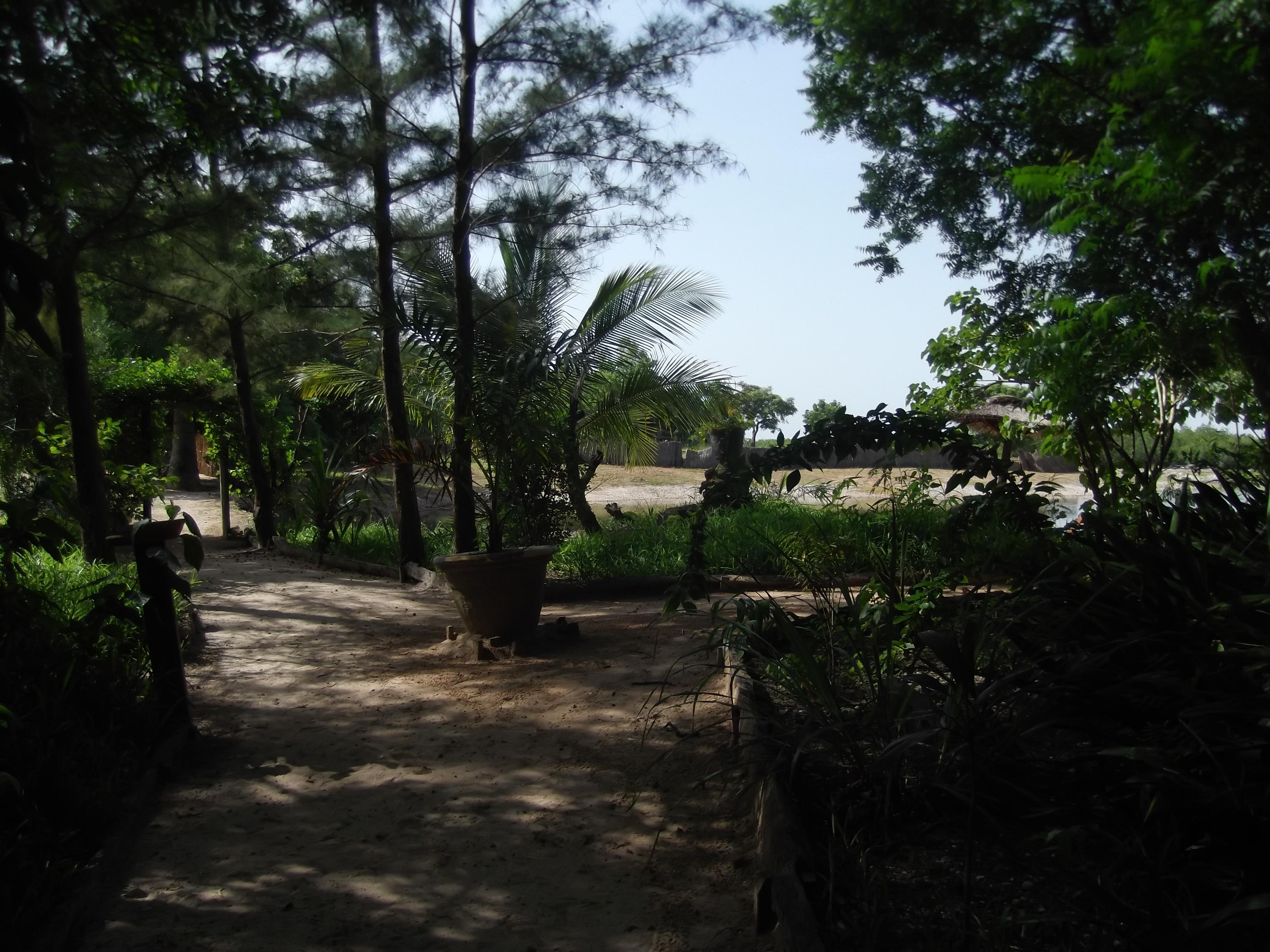 Gardens to beach