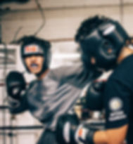 Flash Boxing Gym Sparring