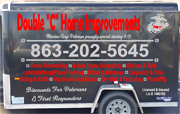 Double C Home Improvements Trailer