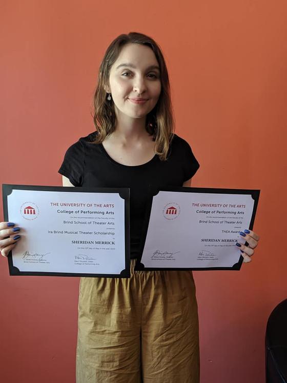 Sheridan graduates with Honors!
