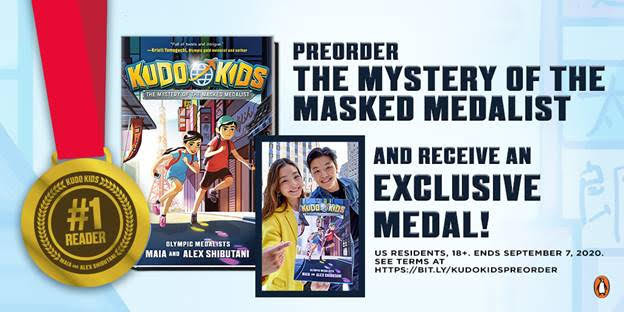 The Mystery of the Masked Medalist by Maia and Alex Shibutani