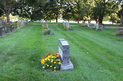 Grave Sites and Flowers