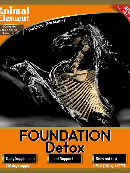 Foundation Equine Detox 2 lb NOW with Magnesium an