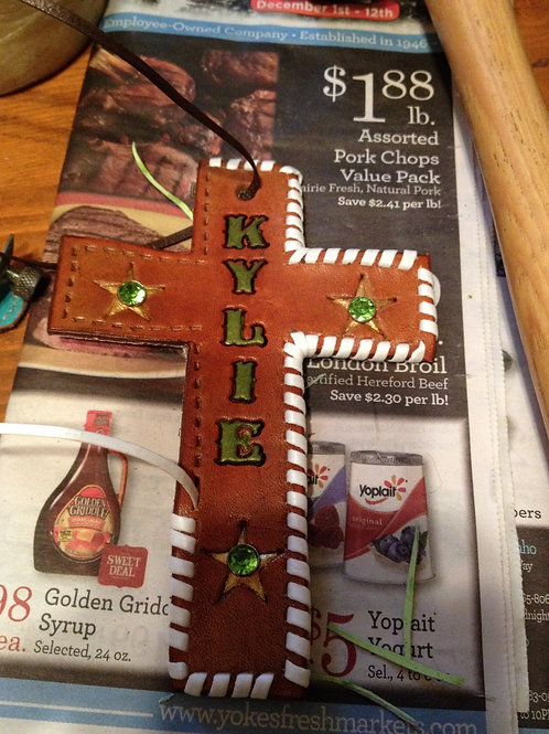 Custom Saddle Cross in progress