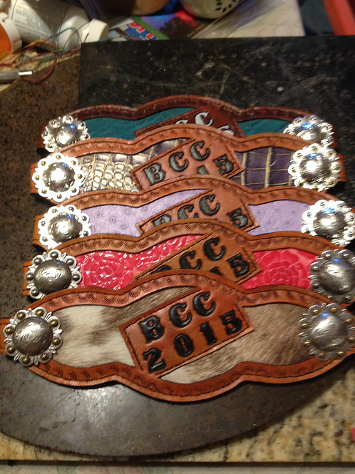 Bronc Bands for Baldy Colored Calvary